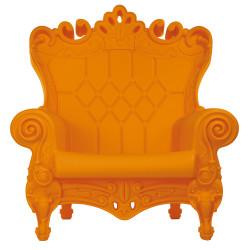 Fauteuil Trône Queen of Love, Design of Love by Slide orange