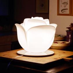 Lampe à poser en forme de rose, Baby Love, MyYour, éclairage blanc ampoule