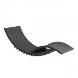 Tic chaise longue design, Slide Design gris éléphant
