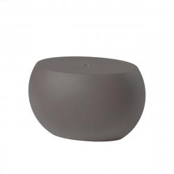 Table basse Blos low table, Slide Design, gris argile