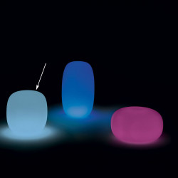 Tabouret Pandora, My Your Lumineux RGBW multicolore taille M