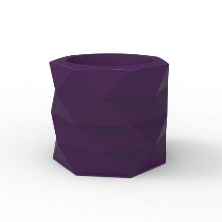 Pot de Jardin Marquis diamètre 60 cm x hauteur 50 cm, Vondom Violet prune Mat