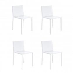 Lot de 4 chaises Quartz, Vondom blanc