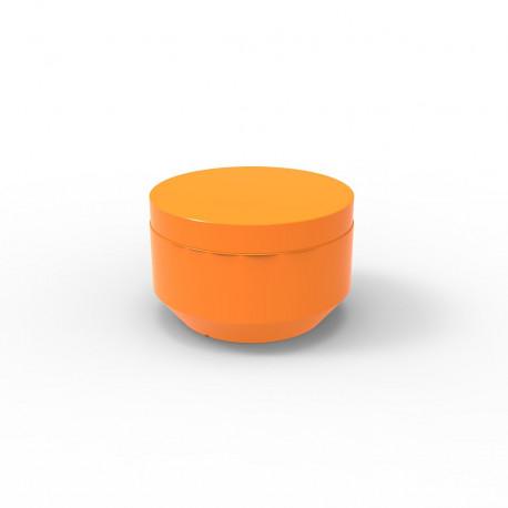Pouf rond Vela Chill diamètre 60cm, Vondom orange