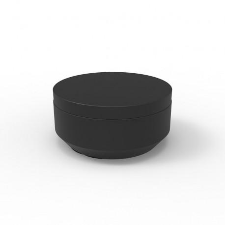 Pouf rond Vela Chill diamètre 80cm, Vondom noir