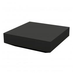 Table basse design carrée Vela, Vondom noir