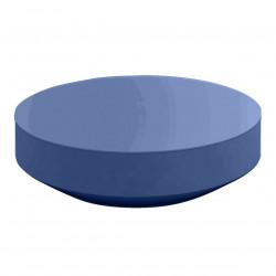 Table basse design ronde Vela diamètre 120cm, Vondom navy