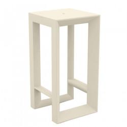 Table haute Frame, Vondom ecru
