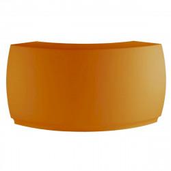 Bar Design Fiesta, module courbe 160x160xH115cm, Vondom, Orange
