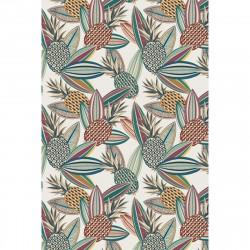 Tapis vinyle ananas rectangulaire, 198x285cm, collection Paradisio, Pôdevache