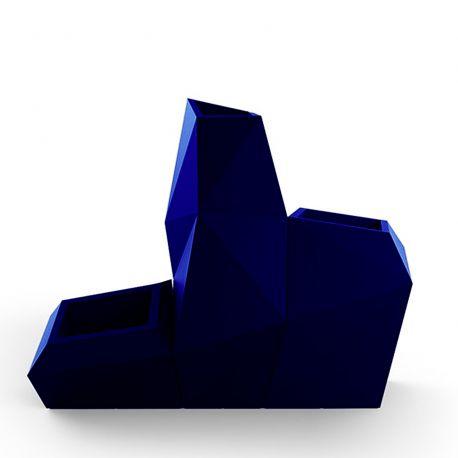 Ensemble de 3 pots Faz, Taille XL, Vondom, bleu marine