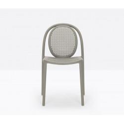 Lot de 4 chaises Remind 3730, Pedrali, gris