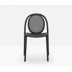 Lot de 4 chaises Remind 3730, Pedrali, noir