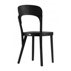 Chaise 107 bistrot moderne Thonet, noir